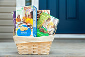 Girl Scout cookies delivered — Stock Photo