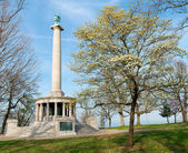 Monument to Civil War soldiers at Point Park on Lookout Mountain near Chattanooga, Tennessee — Stock Photo