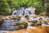 Rushing waterfall in Georgia mountains near Atlanta — Stock Photo