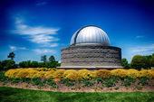 Observatory on sunny spring day — Stock Photo