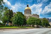 Georgia state capitol building in Atlanta — Stock Photo