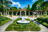 Fountain at public park in Lakeland, Florida — Stockfoto