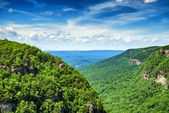 High view of Cloudland Canyon State Park in north Georgia — Stock Photo