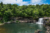 Waterfall at Little River Canyon National Preserve in northern A — Stock Photo