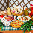 Italian cuisine  still life — Stock Photo
