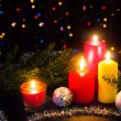 Christmas candles — Stockfoto #16917509