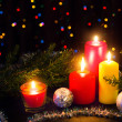 Christmas candles — Stock Photo #16917509