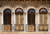 Andalusian window — Stockfoto