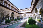 Alcazar of seville — Foto de Stock
