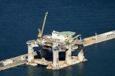 Oil platform — Stock Photo