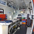 Within ambulance - Stock Photo