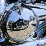 Motorcycle engine — Stock Photo #13737680