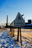 Leaving the factory — Foto de Stock