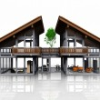 Very nice house design — Stock Photo