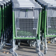 Shopping carts — Stock Photo #16639089