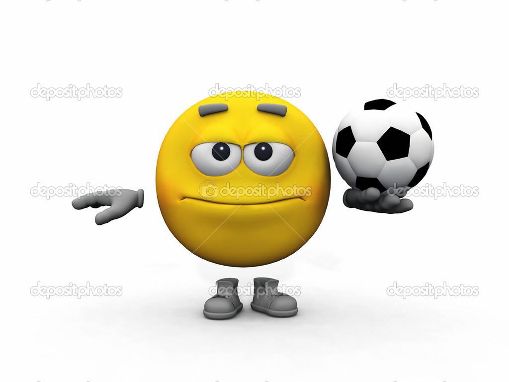 футбольные смайлики: