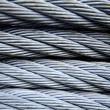 Steel cable — Foto de stock #16640751