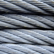 Steel cable - Stock Photo