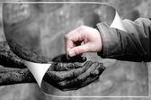 Charity — Stock Photo