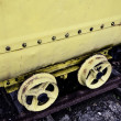 Mining wagon — Stock Photo