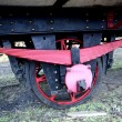 Stock Photo: Wagon axle