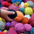 Stock Photo: Ball of wool Peruvian
