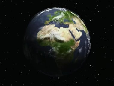 Planet earth — Stock Video