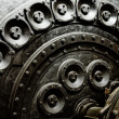 Foto Stock: Industrial machinery