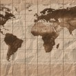 Old  maps of the globe — Stock Photo