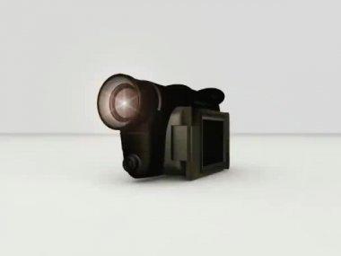 Video camera — Stock Video