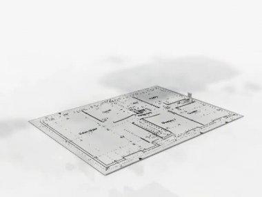 Beautiful house — Stock Video