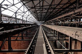 I fabrik — Stockfoto