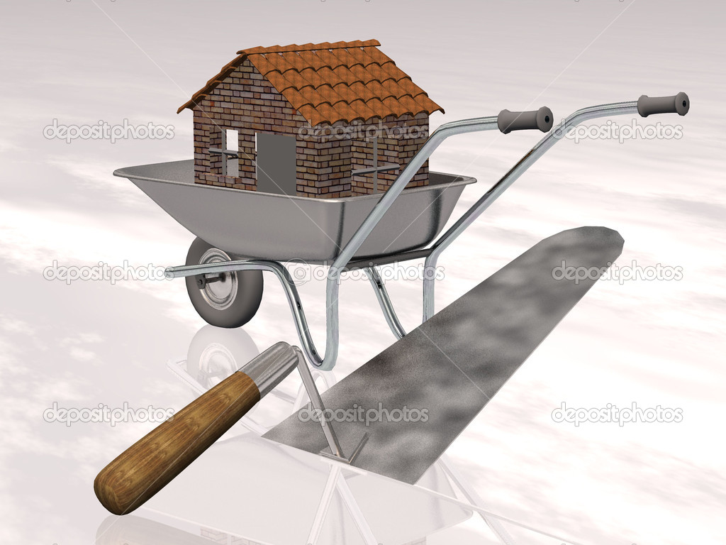 Building Tools For House Construction Stock Photo Njaj