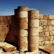 Ruins of the Nabatean city of Avdat — Stock Photo