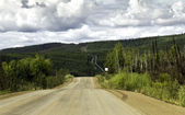 Alaska, road from Fairbanks to Arctic Circle — Stock Photo