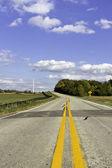 Amerikaanse land zijweg — Stockfoto