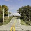 American country asphalt road — Stock Photo #13409343