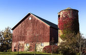 American old country farm — Stock Photo
