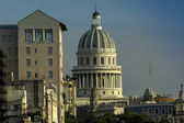 View of Capitol in Havana at late afternoon — Stock Photo