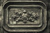 详细信息木质门装饰 — 图库照片