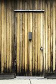 Aged wooden door — Stock Photo