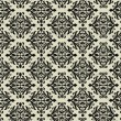 Black and beige beautiful vintage background pattern — Foto de Stock