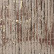 Close up of vertical  wooden fence — Stock Photo