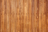 Vertical wooden fence panels — Stock Photo