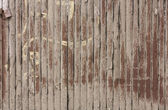 Close up of vertical wooden fence — Photo