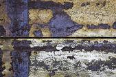 Vecchio sfondo di ferro arrugginito — Foto Stock