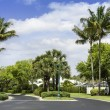 Traditional community road in Naples, Florida — Stock Photo