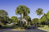 дорога к сообществу в неаполе, флорида — Стоковое фото