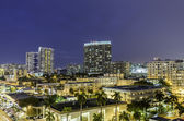 Vista strada di miami south beach notte — Foto Stock