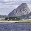 Stock Photo: Jet ready to take off in Rio de Janeiro